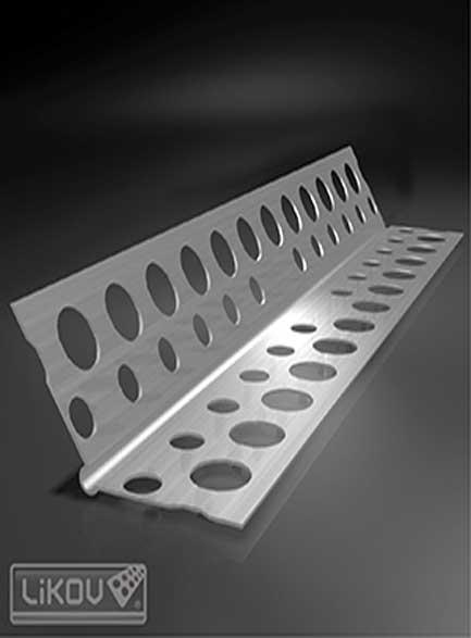 Ъгъл алуминиев 135* 23х23-0.35мм- 2.50м