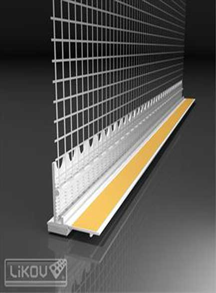 Профил прозоречен US 8 PVC - 2.4м