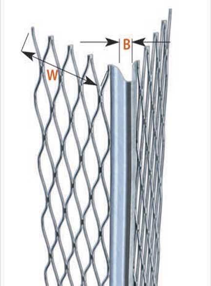 CATNIC Шина за мазилка -2,60м