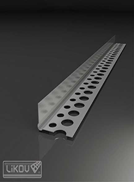 Ъгъл алуминиев полу ъгъл - 2,50м