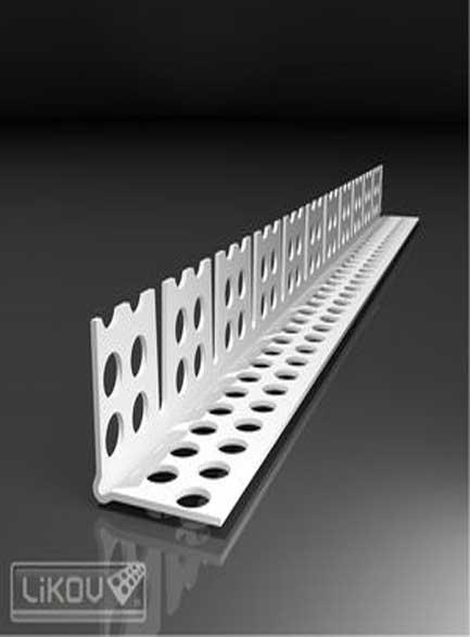Ъгъл PVC за свод ЕКО 23,5х 23,5мм- 2,50м
