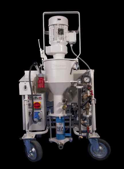 BAPRO ONE STRONG MAX - пълно окомплектована машина за мазилка, 230V