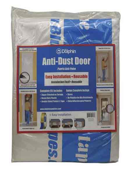 Безпрахова завеса с цип и двойнозалепваща лента за монтаж 100х 215 см