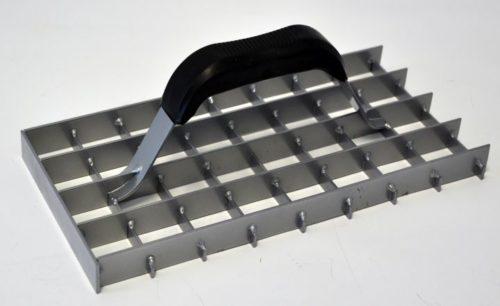Ренде за мазилка със зъби 280 х 140 мм