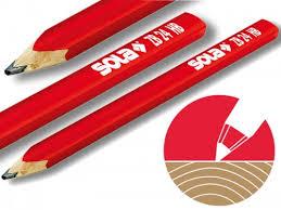 ZB 24 Дърводелски молив, твърдост НВ