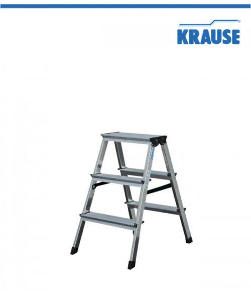 Krause Алуминиева двустранна стълба Dopplo 2 x 3