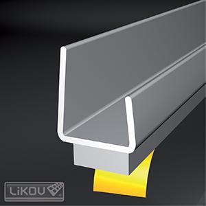 Likov Самозалепващ профил за гипскартон, 12.5mm ширина - 2,5м
