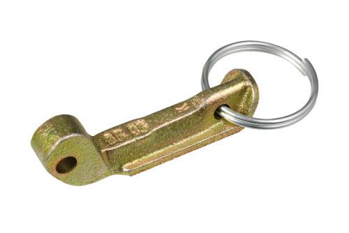 BAPRO Заключвач за дръжка с халка, цинк