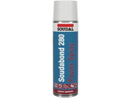 Soudal Контактно лепило Power Spray 500 мл