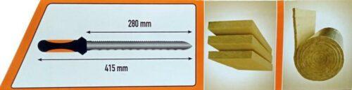 MOTIVE Нож за стиропор и вата с калъф, 280 мм